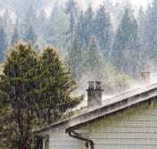 chimney rain
