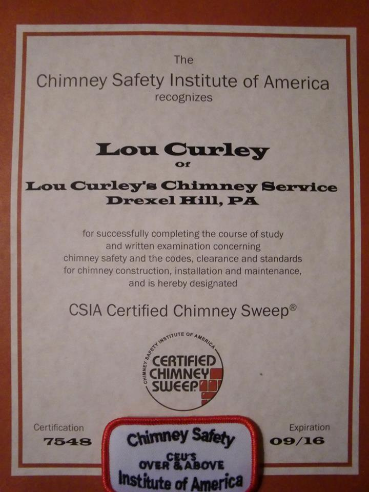 Why Insist On A Csia Certified Chimney Sweep Wisdom From The Hearth