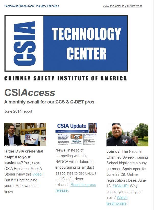 CSIAccess makes debut