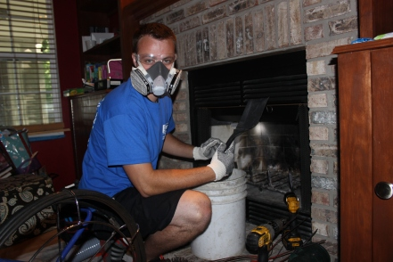 fireplace clean