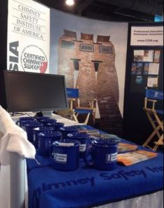 CSIA's booth at NAMIC