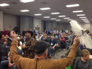 A volunteer helper is shown in this scene from our 2014 CSIA auction in Columbus, Ohio.