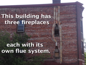Want to see a rare look at the inside of two fireplaces and the flues that support them?  https://www.youtube.com/watch?v=lZUTMU3-WVk … via @JerryCvc